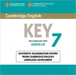 Cambridge English Key 7 - Audio CD Authentic Examination Papers from Cambridge English Language Assessment - cambridge - 9781107641761