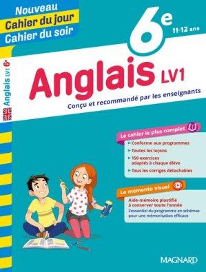 Cahier du jour/Cahier du soir Anglais 6e-magnard-9782210762398