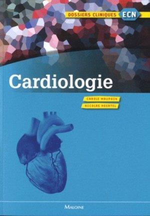 Cardiologie - maloine - 9782224031343