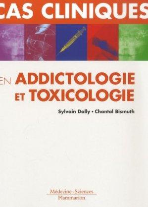 Cas cliniques en addictologie et toxicologie - lavoisier msp - 9782257156174