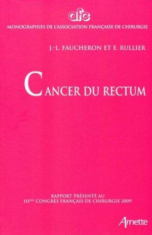 Cancer du rectum - arnette - 9782718412122