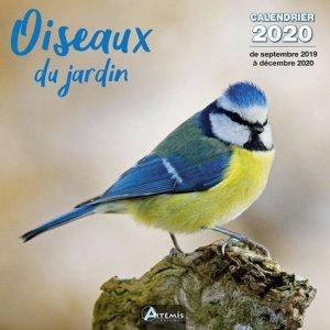 Calendrier Oiseaux du jardin 2020 - artemis - 9782816015201