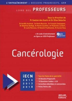 Cancérologie - med-line - 9782846781923