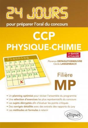 CCp PhysiquePhysique 24 jours pour préparer l'oral du concours CCP-ellipses-9782340022829