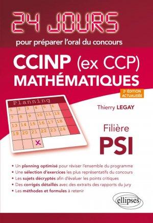 CCINP (ex CCP) Mathématiques  filière PSI-ellipses-9782340029200