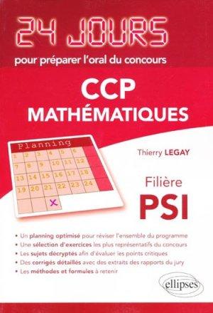 CCP  Mathématiques filière PSI-ellipses-9782729872038