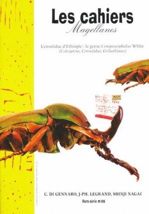 Cetoniidae d'Éthiopie le genre Compsocephalus White-magellanes-9782353870219