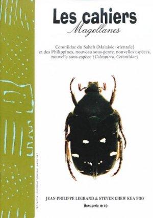 Cetoniidae du Sabah (Malaisie orientale) et des Philippines, nouveau sous-genre, nouvelles espèces, nouvelle sous-espèce-magellanes-9782911545627