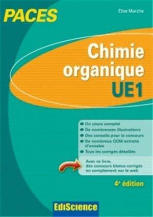 Chimie organique - UE1-édiscience-9782100598397