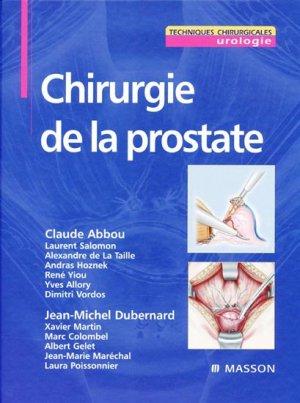 Chirurgie de la prostate - elsevier / masson - 9782294018084