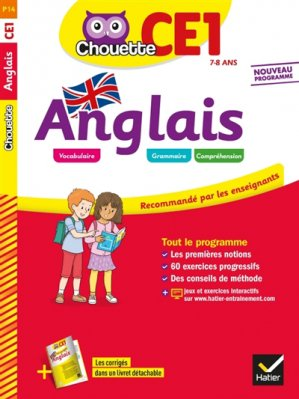 CHOUETTE ANGLAIS CE1 2019 -hatier-9782401050495