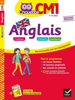 CHOUETTE ANGLAIS CM1 2019 -hatier-9782401050518