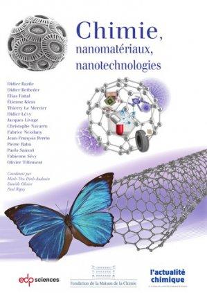 Chimie, nanomatériaux, nanotechnologies - EDP Sciences - 9782759823765