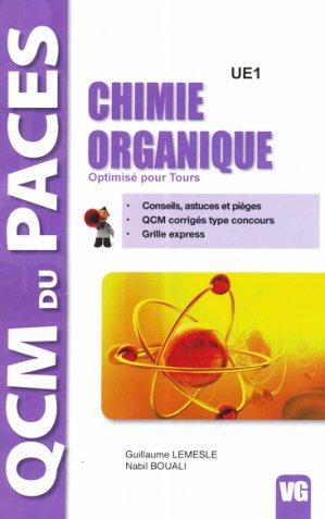 Chimie organique - vernazobres grego - 9782818314227