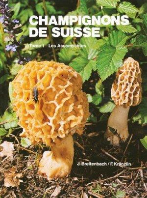 Champignons de Suisse Tome 1-mykologia luzern-9783856041113