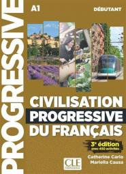 Civilisation Progressive du Français - Débutant 3ED-cle international-9782090382020