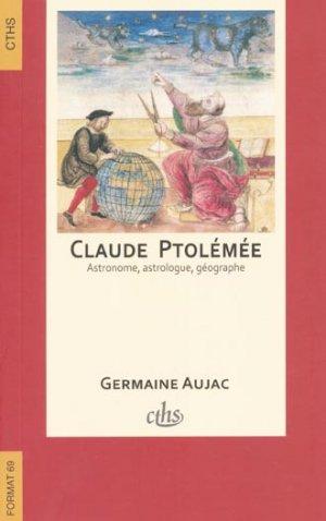 Claude Ptolémée, astronome, astrologue, géographe - cths - 9782735507672