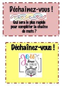 Coffret jeu DECHAINEZ-VOUS !-clic et fle-2225614725646