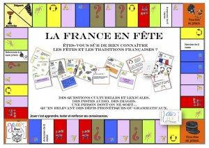 Coffret jeu LA FRANCE EN FETE-clic et fle-2225614774262