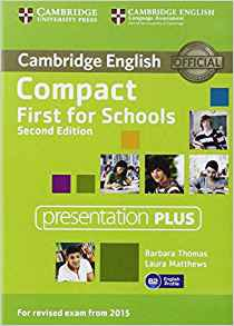 Compact First for Schools - Presentation Plus DVD-ROM - cambridge - 9781107416048