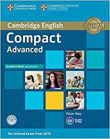 Compact Advanced - Student's Book with Answers with CD-ROM - cambridge - 9781107418028