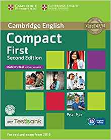 Compact First - Student's Book without Answers with CD-ROM with Testbank - cambridge - 9781107542471
