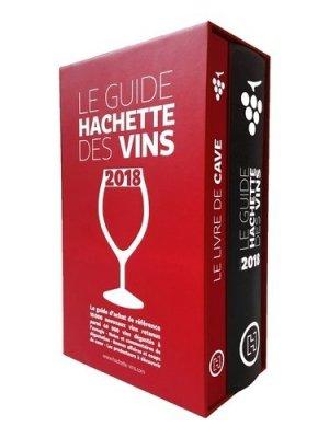 Coffret Guide Hachette des vins 2018 + livre de cave-hachette-9782013919135