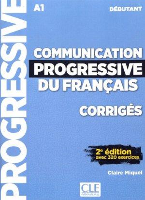Communication progressive du français débutant A1-cle international-9782090384468