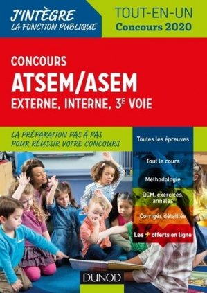 Concours ATSEM/ASEM-dunod-9782100789696