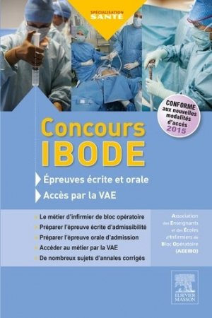 Concours IBODE - Annales corrigées et accès VAE-elsevier / masson-9782294746185