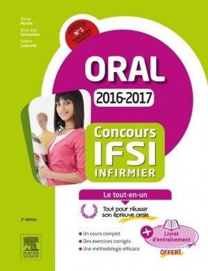 Concours IFSI Épreuve orale-elsevier / masson-9782294750557
