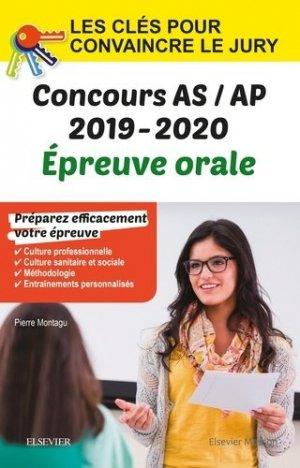 Concours aide-soignant et auxiliaire de puériculture 2019-2020-elsevier / masson-9782294763694