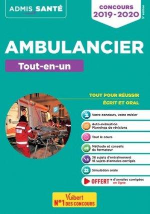 Concours ambulancier tout en un - vuibert - 9782311205121