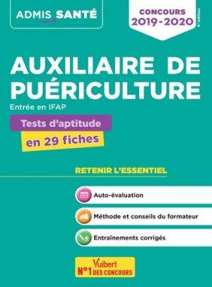 Concours Auxiliaire de puériculture - Tests d'aptitude-vuibert-9782311205299