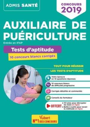Concours Auxiliaire de puériculture concours 2019 - vuibert - 9782311207323