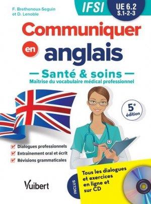 Communiquer en Anglais Santé & Soins - estem - 9782311660623