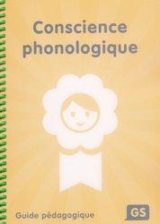 Conscience phonologique GS - de la cigale - 9782363612090