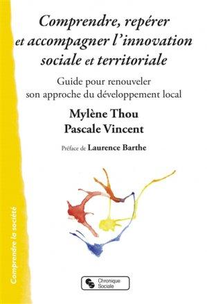Comprendre reperer et accompagner l'innovation sociale et territoriale-chronique sociale-9782367175621