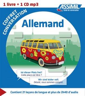 Coffret Conversation Allemand - assimil - 9782700541373