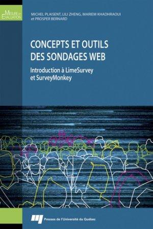 Concepts et outils des sondages web-presses de l'universite du quebec-9782760550025