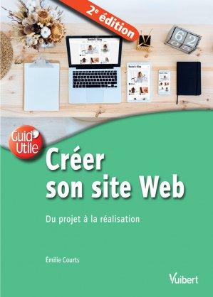 Créer son site web / du projet à la réalisation - vuibert - 9782311623062