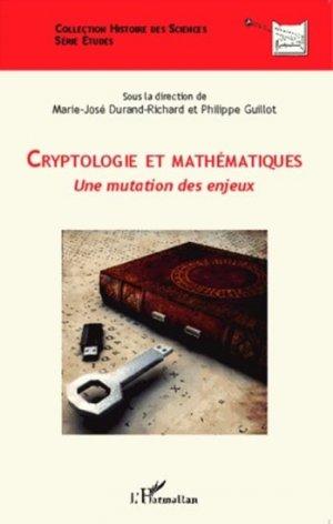 Cryptologie et mathématiques - l'harmattan - 9782343025223