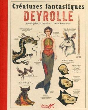Créatures fantastiques Deyrolle-plume de carotte-9782366721355