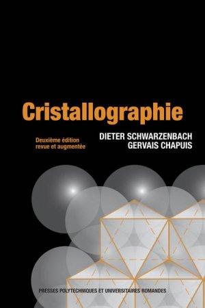 Cristallographie - presses polytechniques et universitaires romandes - 9782880746728