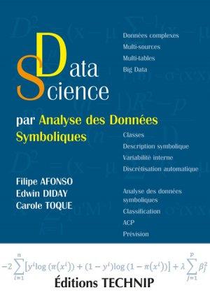 Data science par analyse des données symboliques-technip-9782710811817