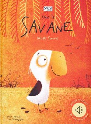 Dans la savanne : récits sonores - sassi - 9788868607579