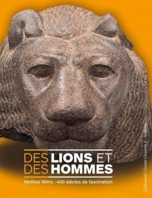Des lions et des hommes - Gallimard - 9782072838521