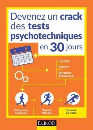 Devenez un crack des tests psychotechniques en 30 jours - dunod - 9782100763931