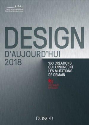 Design d'aujourd'hui 2018 --dunod-9782100773251