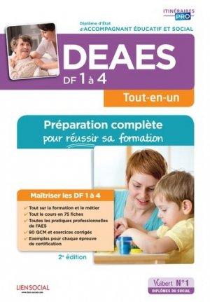 DEAES DF 1 à 4 - Préparation complète pour réussir sa formation - vuibert - 9782311205800